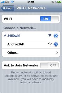 iphone 4 wifi