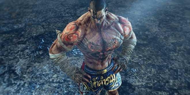 ฟ้าคำราม (Fahkumram) นักมวยไทยจากเกม Tekken 7