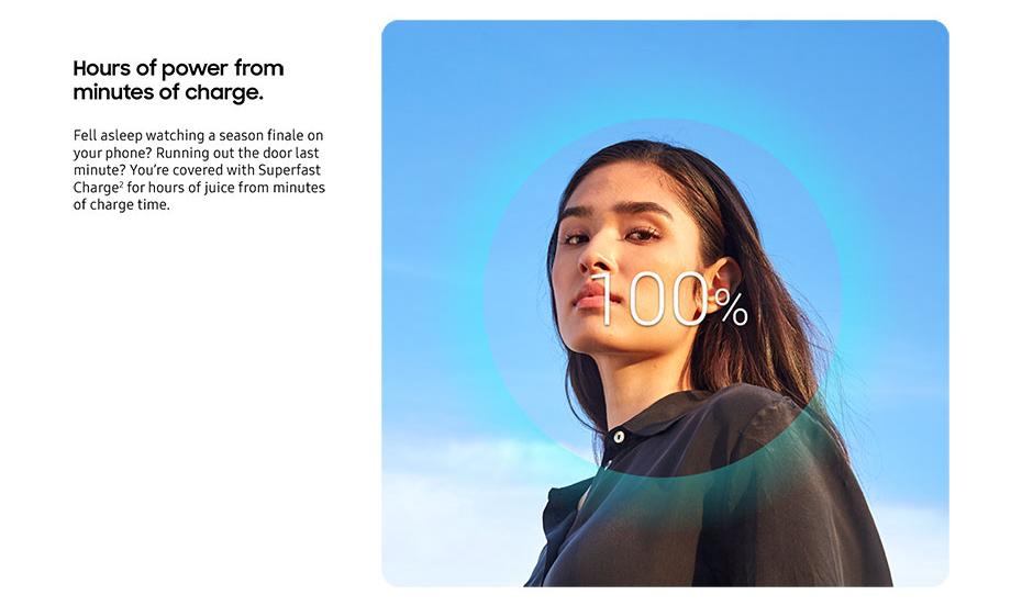 คุณสมบัติ Super Fast Charge ใน Galaxy Note 10