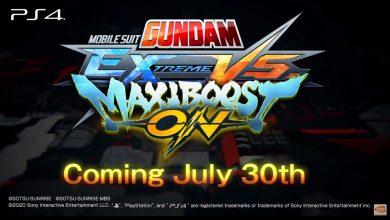 Photo of Mobile Suit Gundam Extreme VS Maxiboost ON  หุ่นรบกันดั้มพร้อมเปิดฉากสู้ปลายกรกฎานี้