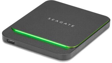Photo of เปิดตัว Seagate  BarraCuda Fast SSD ไดรว์ SSD ขนาดพกพาสำหรับเกมเมอร์