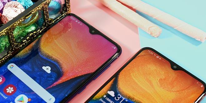 รีวิว Samsung Galaxy A10 และ Samsung Galaxy A20