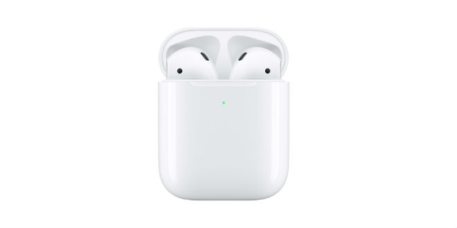 AirPods 2 wireless charge