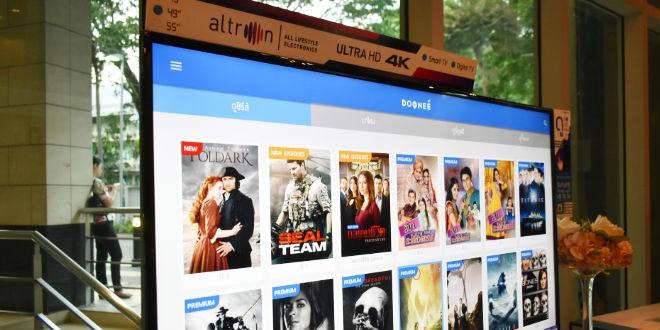 altron smart tv video on demand from doonee