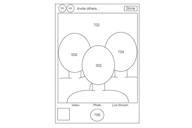 Apple patent virtual selfie