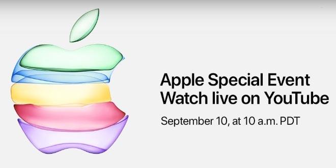 ถ่ายทอดสดเปิดตัว Apple 11 ผ่าน youtube เป็นครั้งแรก
