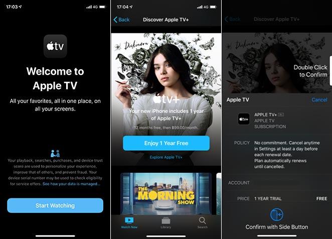 วิธีสมัคร Apple TV+