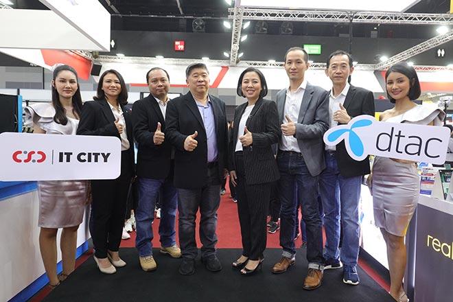 DTAC จับมือสองพันธมิตร CSC และ IT CITY ขยายช่องทางจัดจำหน่ายสินค้าผ่าน 400 สาขาทั่วประเทศ