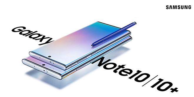 Samsung Galaxy Note 10 ปล่อยตัวซอฟท์แวร์อัพเดทครั้งแรกแล้ว