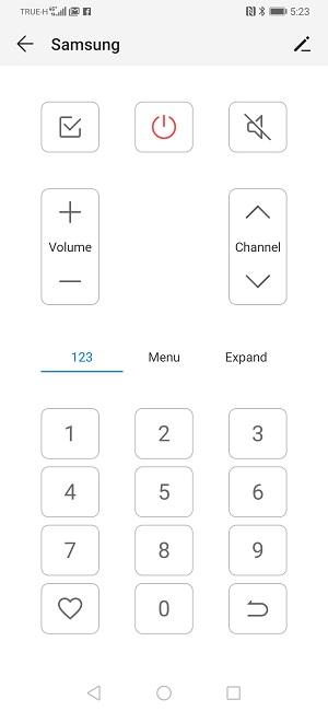 เปลี่ยน Huawei P30 Pro เป็นรีโมทเครื่องใช้ไฟฟ้าด้วยแอพ Smart