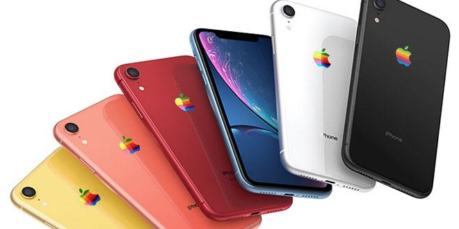iPhone XR Rainbow logo ตัว Concept Render จาก Mac Rumor