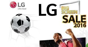 LG จัดโปร LG BIG SCREEN SALE 2016 ซื้อ 2 เครื่องในราคาเดียว