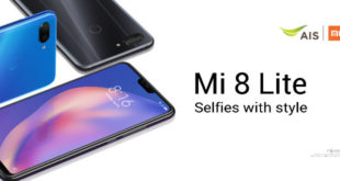 Mi 8 Lite ราคาเริ่มต้นแค่ 3,900 บาท ! เมื่อ Xiaomi กับ AIS จัดให้ส่งโปรพิเศษส่งท้ายปี