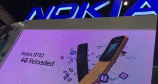 เปิดตัว Nokia 8100 4G การกลับมาของมือถือกล้วยหอมในตำนาน