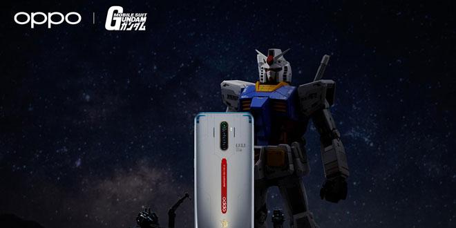 OPPO เปิดตัว Reno Ace รุ่นพิเศษ Mobile Suit Gundam ราคาประมาณ 15,500 บาท