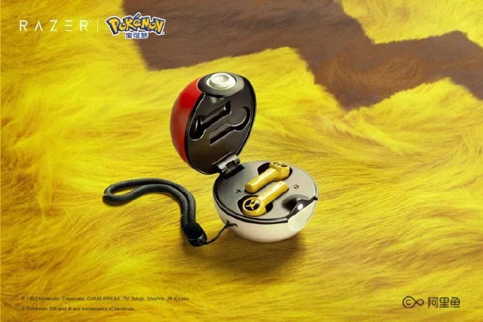 razer pokemon true wireless earphone