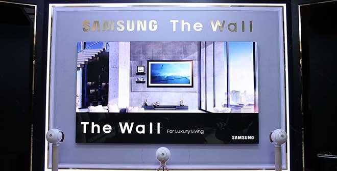 Samsung ส่ง The Wall รับเทรนด์ทีวีจอยักษ์จับตลาดโฮมเอนเตอร์เทนเมนท์หรู