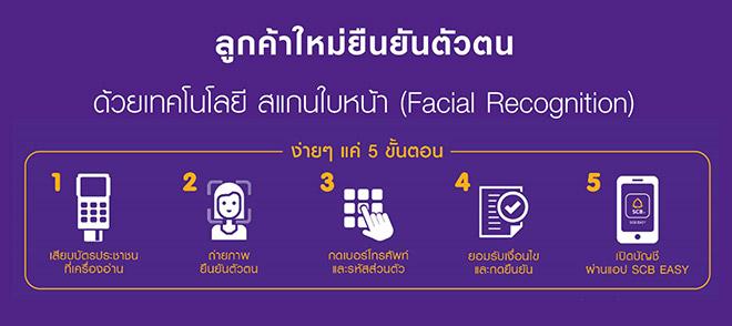 ระบบสแกนใบหน้าของธนาคารไทยพาณิชย์