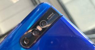 แง้มภาพแรก Vivo V15Pro  มาพร้อมกับกล้องหน้าเลื่อนได้ และจอใหญ่ไร้ขอบ