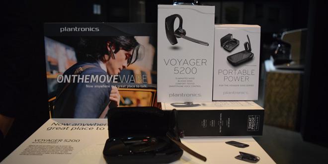 Photo of แรกสัมผัสหูฟังบลูทูธ Plantronics Voyager 5200 และ Backbeat GO 3