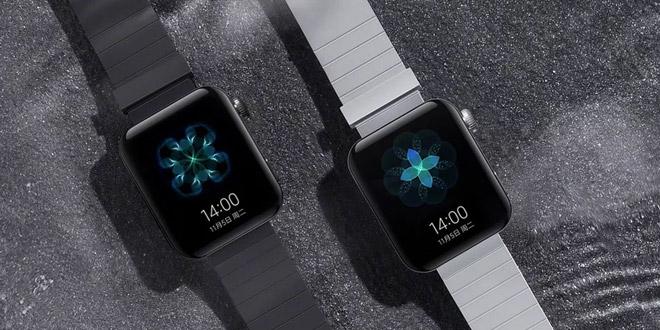 Xiaomi Smart Watch มากับสีดำ และสีขาว